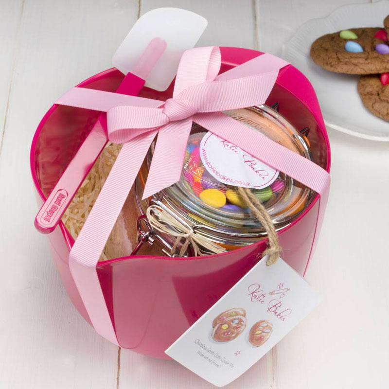 Pink Baking Mix Gift Set