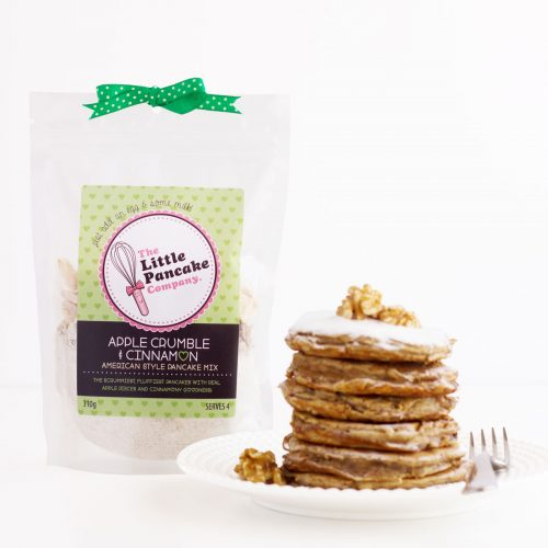 Gourmet Apple Crumble American Style Pancake Mix