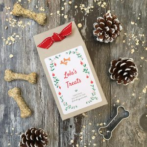 Christmas Dog Biscuit Mix