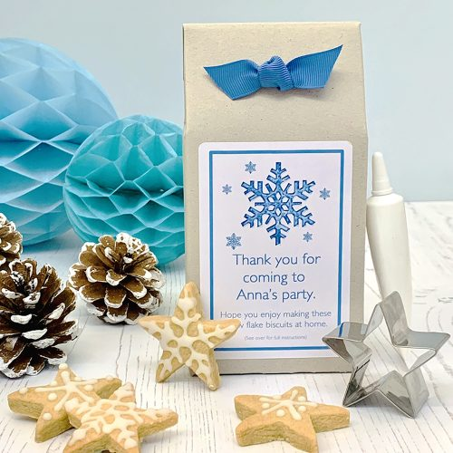 Frozen Snowflake Biscuit Kit