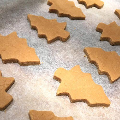Personalised Gingerbread Christmas Tree Baking Kit