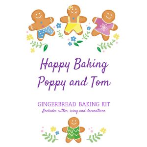 Gingerbread Baking Kit