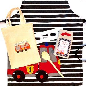 Children's Fire Engine Baking Gift Set