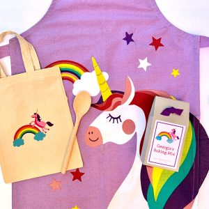 Children's Unicorn Baking Gift Set