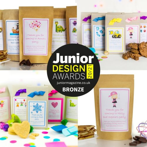 Personalised Eco-Friendly Baking Mix Boxes and Party Bags