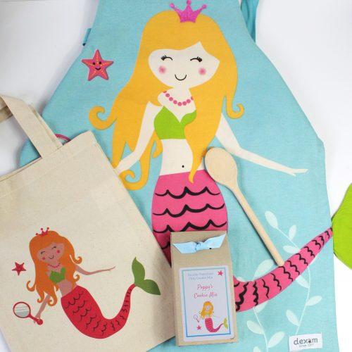 Children's Mermaid Baking Gift Set