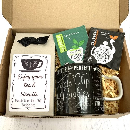 NEW Personalised DIY Tea & Biscuits Kit