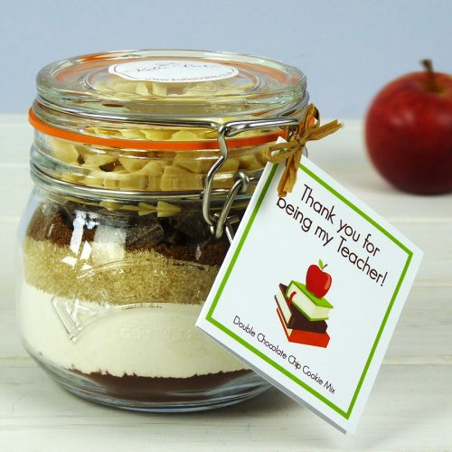 Teacher Choc Chip Cookie Mix Jar