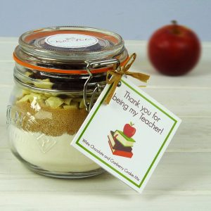 Teacher White Choc & Cranberry Cookie Mix Jar