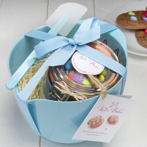 Blue Baking Mix Gift Set