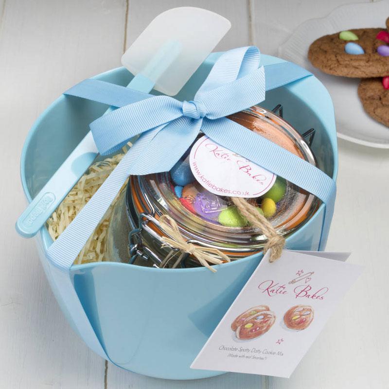 Azure Blue Artisan Baking Mix Gift Set & Blue Baking Mix Gift Set u2013 Katie Bakes u2013 Artisan Baking Mixes
