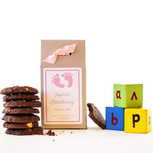Baby Shower / Christening Choc Chip Cookie Mix Party Bags