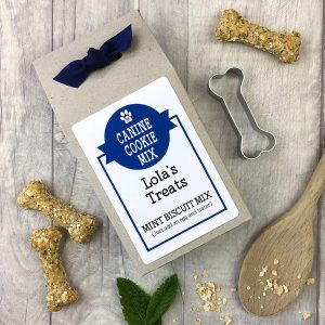 "Personalised ""Bake your own"" Canine Cookie Mix"