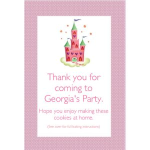 Personalised Party Bags – Enchanted Castle