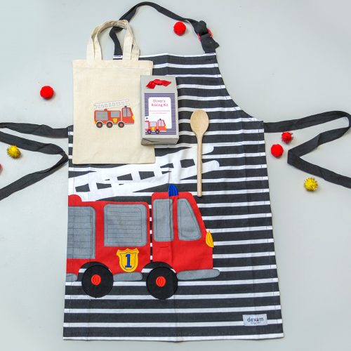 Children's Fire Engine Baking Gift Set
