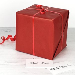 Gift wrap option