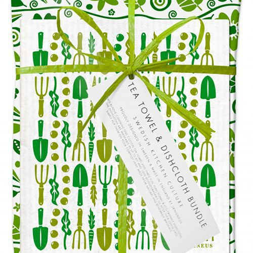 Gardener's Dishcloth and Tea Towel Gift Set