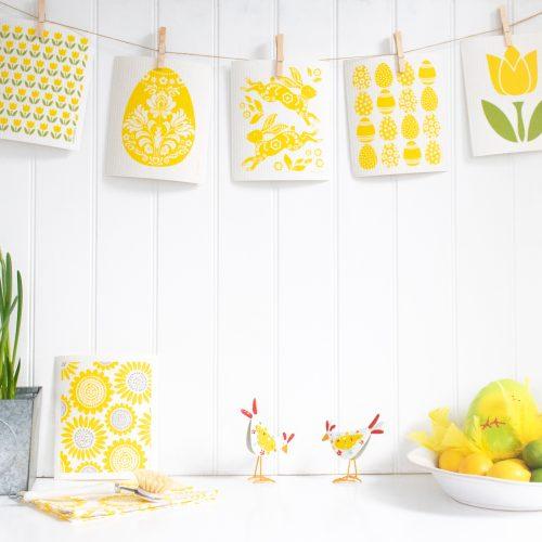 Easter Eco Friendly Dishcloth Set