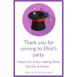 Personalised Party Bags – Magician