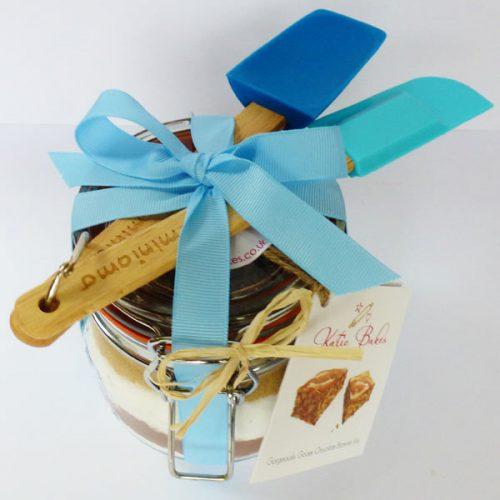 Blue Mini Baking Mix Gift Set