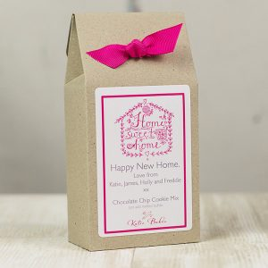 Personalised New Home Chocolate Chip Cookie Mix