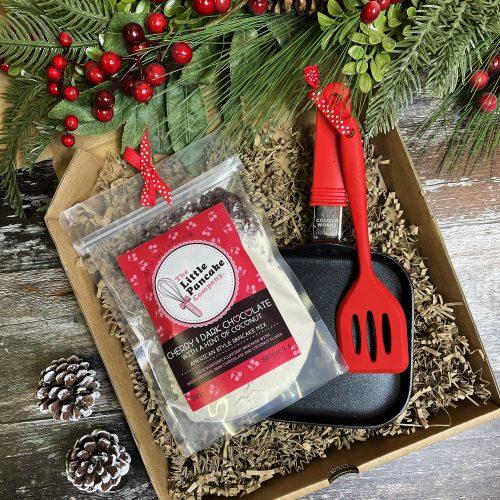 Pancake Gift Set with Mini Pan and Spatula