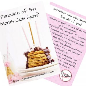3 Month Subscription – Pancake of the Month