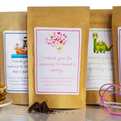 Pancake Mix Party Bags