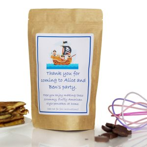 Pancake Mix Party Bags – Pirate Ship