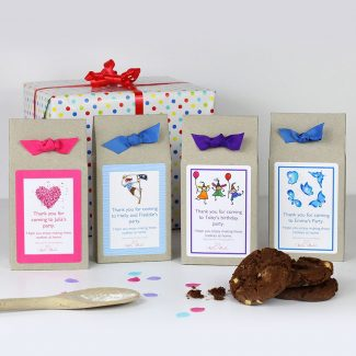Double Chocolate Chip Cookie Mix Party Bags