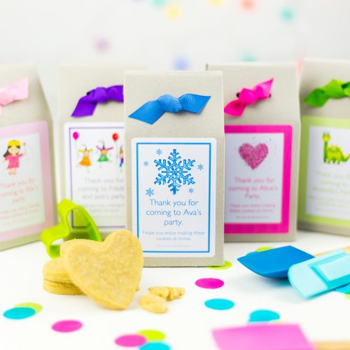 Eco Friendly Shortbread Mix Party Bags