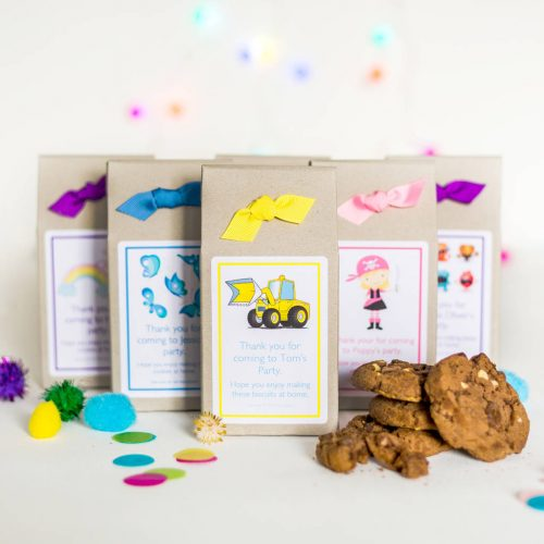 Eco Cookie Mix Gift Boxes and Party Bags