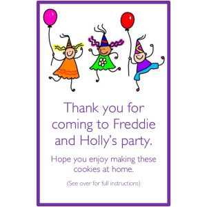 Personalised Party Bags – Party Time