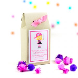 Personalised Party Bags – Pirate Girl