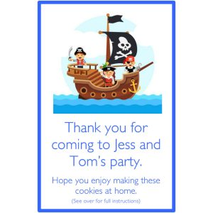 Personalised Party Bags – Pirate Ship