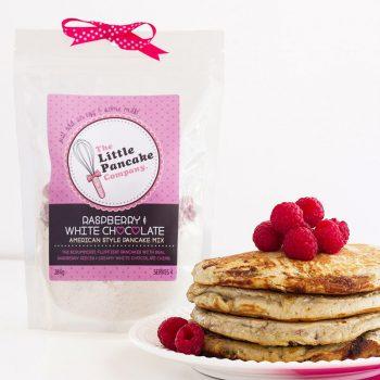 Gourmet White Chocolate & Raspberry Pancake Mix