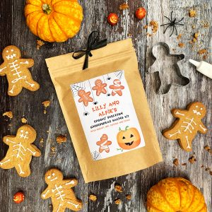 Halloween Spooky Skeleton Gingerbread Baking Kit