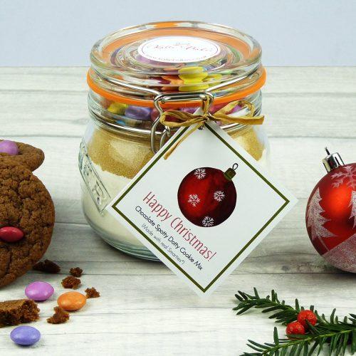 Christmas Spotty Dotty Cookie Mix Jar