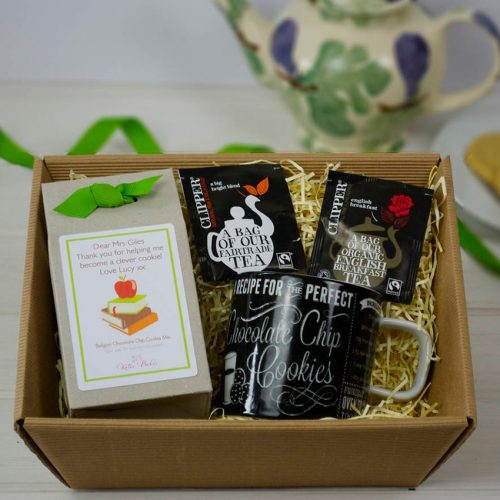 Teacher's DIY Tea & Biscuits Hamper