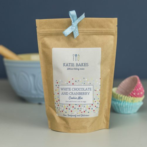 Cranberry and White Chocolate Cookie Mix Eco-Pouch
