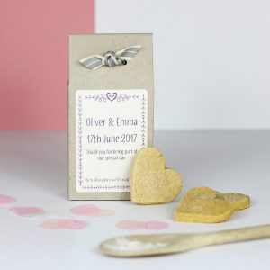 Personalised Shortbread Mix Wedding Favours
