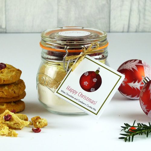 Christmas Cranberry & White Chocolate Cookie
